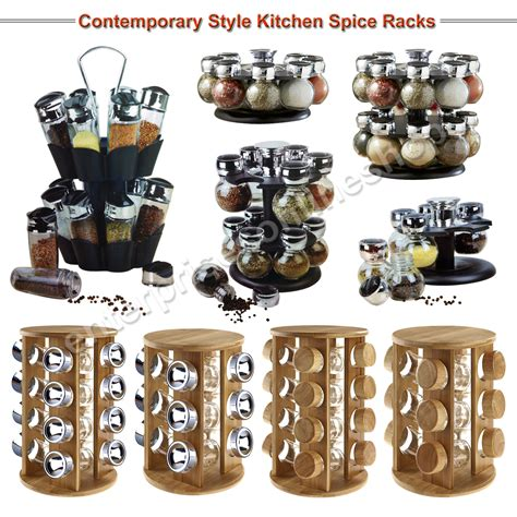 Revolving Spice Rack With 16 Spices by 12 16 Revolving Rotating Wooden Plastic Kitchen Spice Rack