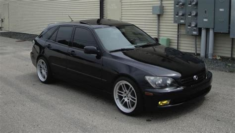 lexus is300 stance black wi 02 39 is300 sportcross black black w rpf1 stance