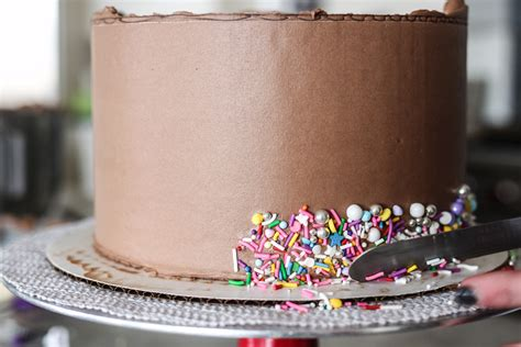 decorating with sprinkles how to add sprinkles to the side of your cake cake by