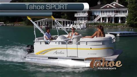 Pontoon Sports by Tahoe Pontoon Boats Sport Series