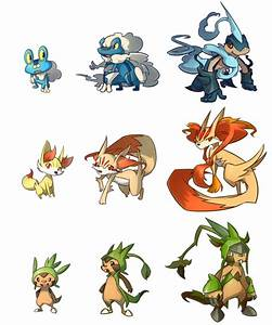 re: Possible Starter Evolutions - Page 2 - Pokémon X & Y ...