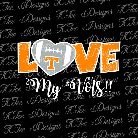 It is absolutely not required, but if you like this website, any mention of or. Love My Tennessee Volunteers College Football SVG File