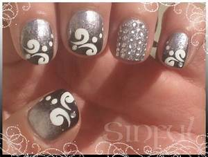 Gallery for gt simple swirl nail designs