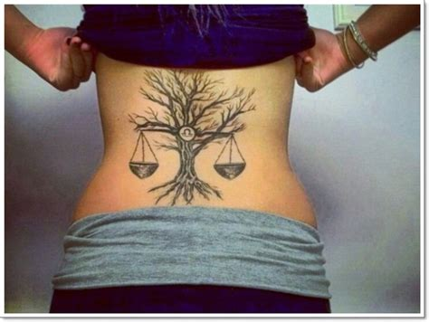 libra tattoos zodiac tattoo balance designs scales signs birth most sign dementia saggy tree horoscope october alluring why they birthday