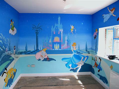 disney murals for nursery pan mural tinkerbell disney mural cinderella princess castle