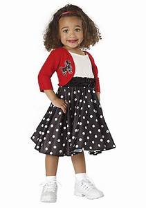 Toddler Girls 50u0026#39;s Costume