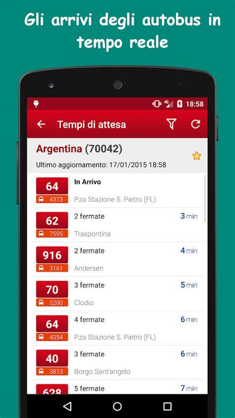 percorso atac mobile probus roma autobus orari atac app android su play