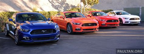 2015 Ford Mustang – initial Australian specifications ...