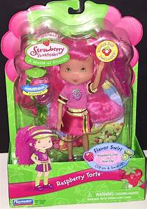Raspberry Torte Doll Flavor Swirl Plus Movie Dvd 4 Years