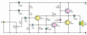 Tip41 Tip42 Amplifier Circuit