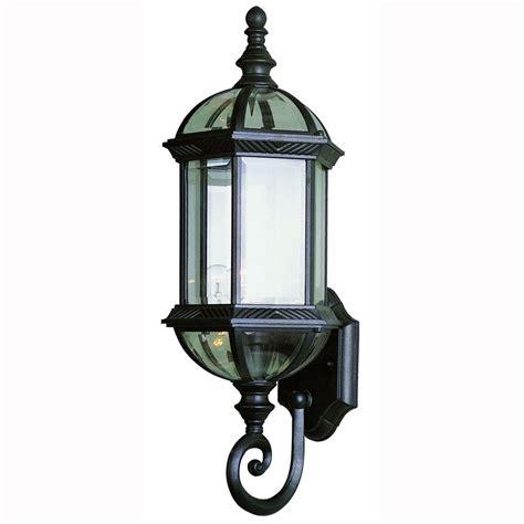bel air lighting 1 light black coach outdoor wall mount