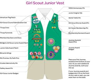girl scouts troop  girl scouts uniforms