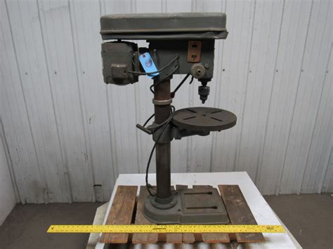 duracraft dp  hp benchtop drill press  chuck