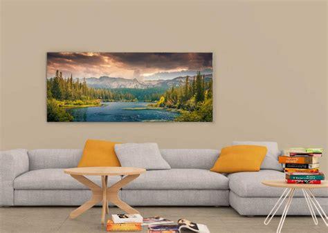 ultrawide wall art frame mockup  psd  mockup