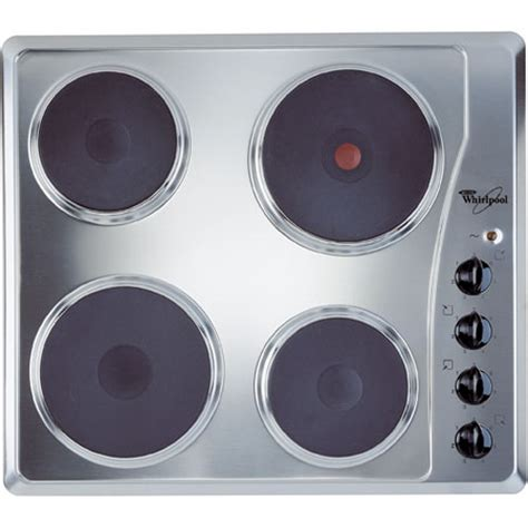 whirlpool electric hobs whirlpool akm330ix electric hob with 4 zones
