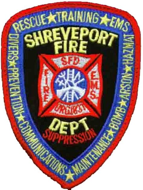 Louisiana Fire Department Patches - 1