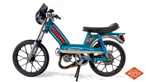 Peugeot 103 Bicycle by Peugeot 103 Ss Custom Race Bike Detroit Moped