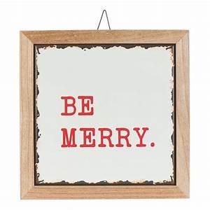 Holiday, Time, Be, Merry, Hanging, Sign, Christmas, Decoration, 12, U0026quot, X, 12, U0026quot, -, Walmart, Com