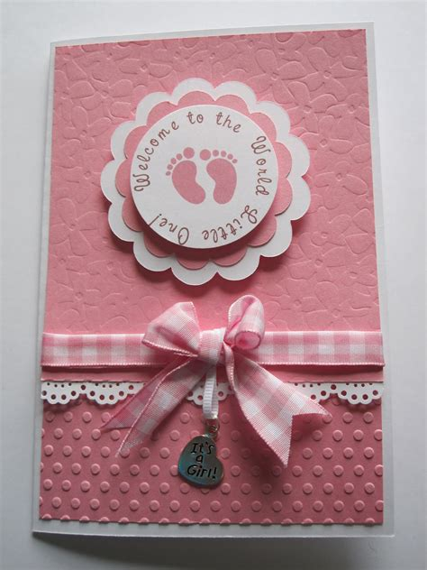 Paperpastime Baby Shower Card