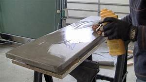 How to build a concrete table for beginners