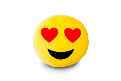 coussin décoratif pour canapé coussin émoticône smiley amoureux le de ping déco