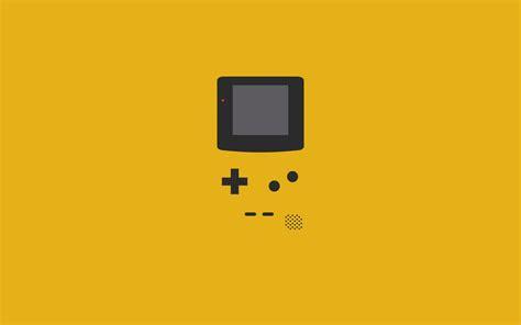 wallpaper video games minimalism text yellow