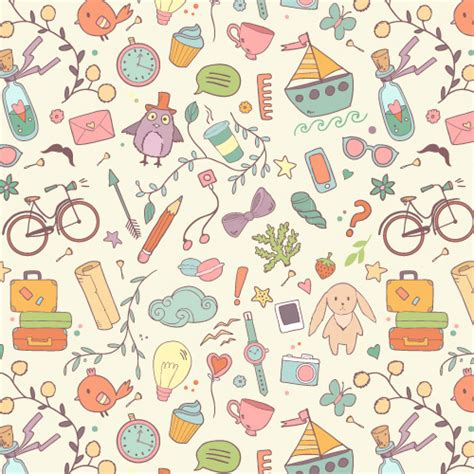 Pattern Design  35 Seamless Free Vector Patterns  Pattern And Texture  Graphic Design Junction