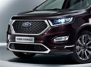 Ford Luxes Up Edge, Kuga, Mondeo & S-MAX With Vignale ...  Ford