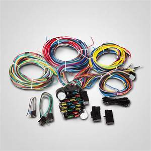 21 Circuit Wiring Harness For Chevy Ford Hotrods Universal