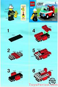 Lego 30001 Fireman U0026 39 S Car Set Parts Inventory And