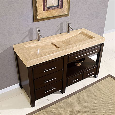 Bathroom Design 60 Quot King Modern Double Trough Sink