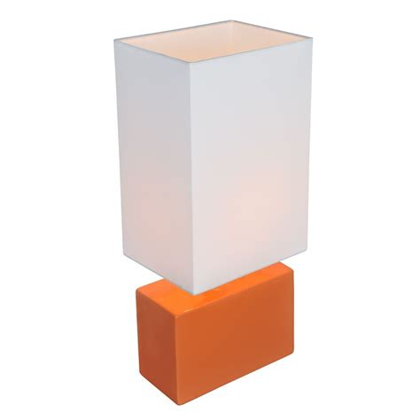 phoenix ls and shades lite source lighting kara orange table l with rectangle