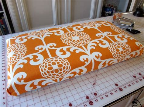 How To Make A No Sew Fabric Covered Cushion  In My Own Style