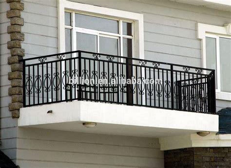 Antique Outdoor Decorative Wrought Iron Balcony Railing