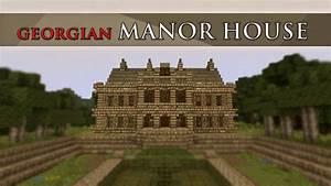 Minecraft Manor House - YouTube