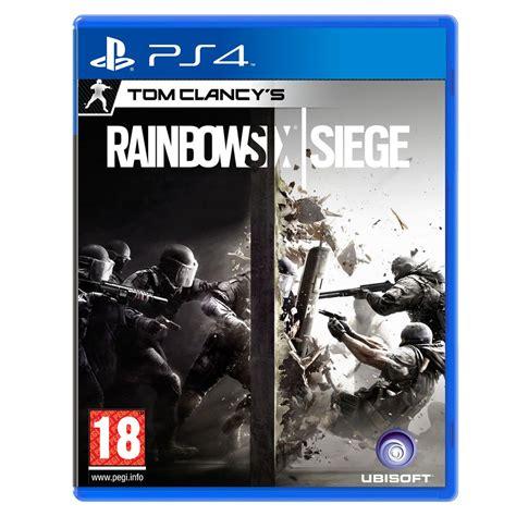siege jeux rainbow six siege ps4 jeux ps4 ubisoft sur ldlc com