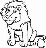 Lion Coloring Pages Printable sketch template