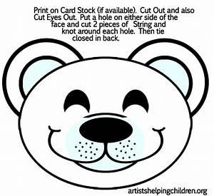 Free Printable Polar Bear Template New Calendar Site