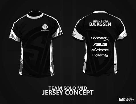esports jersey team mid concept jersey fan by mackaays on