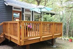 Wood Deck Installation
