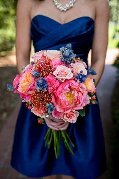 Bold Colorful Wedding Bouquets Wedding Bouquet Ideas