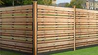 horizontal wood fence Horizontal Fence Panels for Privacy and Protection ...