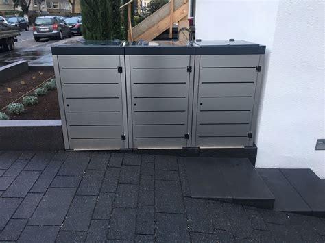Das Richtige Fundament Für Die Mülltonnenbox Von Gero