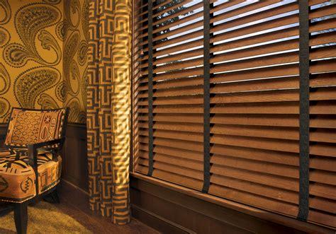 Hd Parkland Wood Blinds With Decorative Tape Livingroom