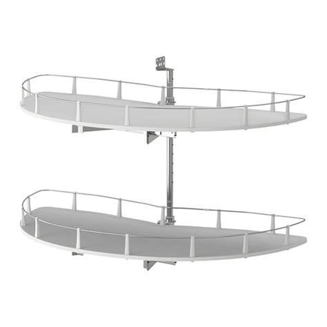 plateau tournant pour meuble de cuisine utrusta accessori estraibili base angolare ikea