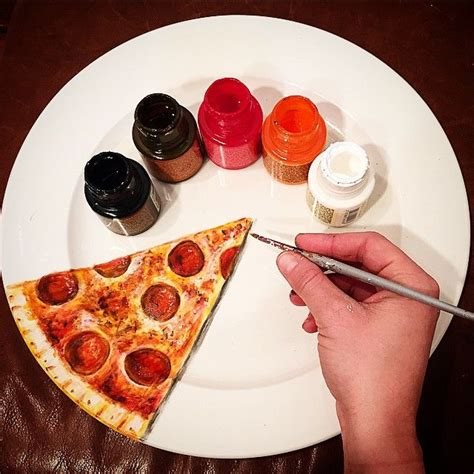 plate based food art plates   canvas