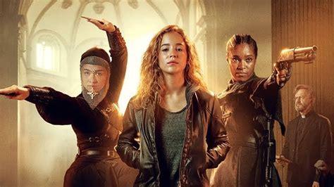 nun warrior netflix sister series alba baptista ava silva teen serie fantasy monja guerrera locations filming movies comic season serienstart