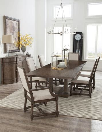 Lincoln Park Trestle Dining Room Set By Hekman Home