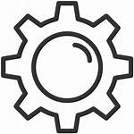 Gear Icon Icons Illustrazione Delle Dell Dent