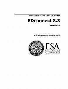 Installation And User Guide For Edconnect 8